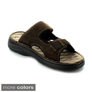 J's Awake Men's 'Marcos-08' Slide Sandals