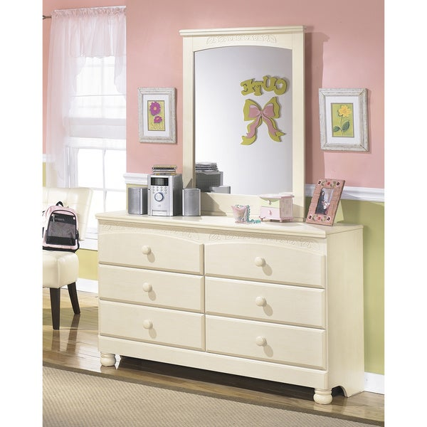 Bedroom Heater Bedroom Sets Mirror Youth Bedroom Sets For Boys Girly Bedroom Door Signs: Signature Designs By Ashley Cream Cottage Retreat Dresser
