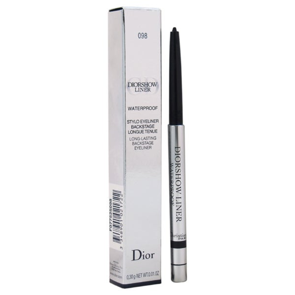 Christian Dior Diorshow Waterproof Long-lasting Backstage #098 Carbon Eyeliner
