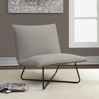 Grey Pillow Lounge Chair