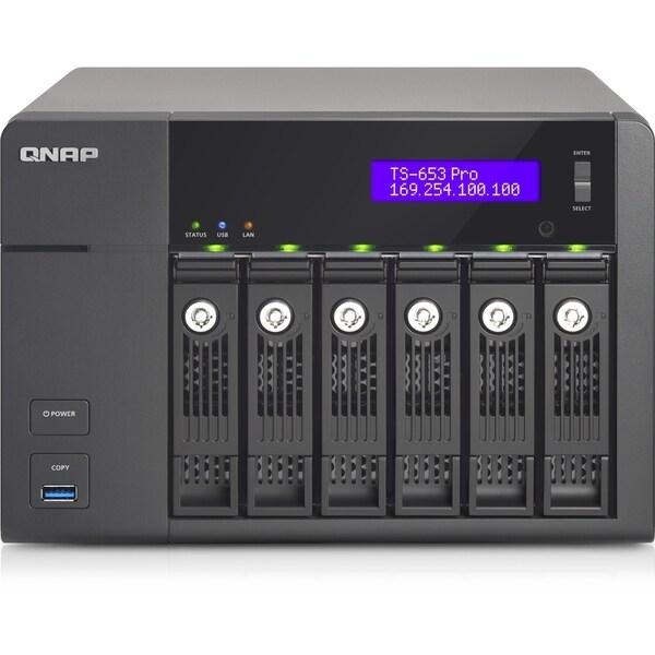 QNAP Turbo NAS TS-653 Pro NAS Server