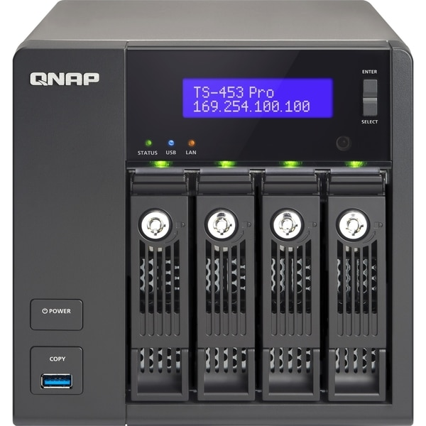 QNAP Turbo NAS TS-453 Pro NAS Server
