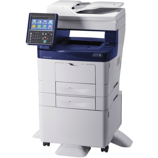 Xerox WorkCentre 3655/S Laser Multifunction Printer - Monochrome - Pl