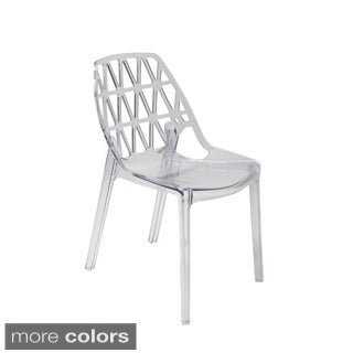 Hodedah Acrylic Chair (Set of 4)