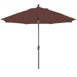 Lauren & Company Premium Adobe 11-foot Aluminum Tilting Umbrella