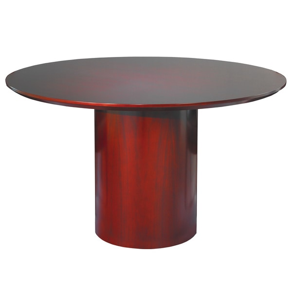 Mayline Napoli Round 48-inch Conference Table