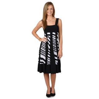 Timeless Comfort by Journee Women's Sleeveless A-Line Dress