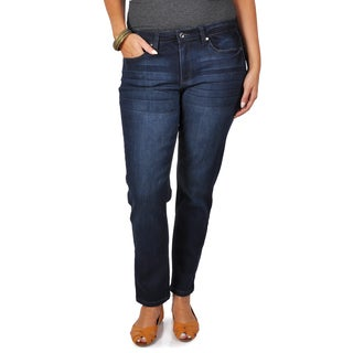 Tressa Collection Women's Contemporary Plus Mid-rise Skinny Jeans