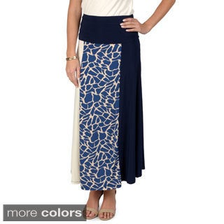 Timeless by Journee Women's Animal Print A-line Skirt