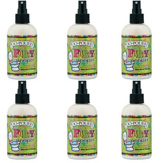 Poo~Pourri Toilet Spray Party Pooper Scent (6 Pack)