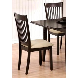 Munich Slat Back Dining Chairs (Set of 2)