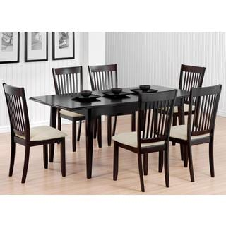 Munich Slat Back 7-piece Dining Set