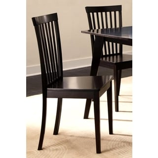 Dagostino Slat Back Dining Chairs (Set of 2)