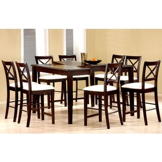 Prestige Cross Back Counter Height Dining Set