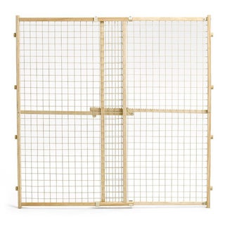 Midwest Wood/ Wire Mesh Dog Gate