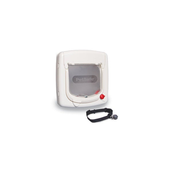 PetSafe Mag White Cat Flap 4-way Lock