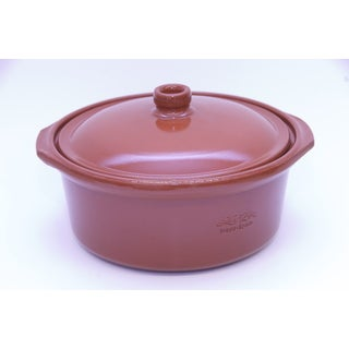 Terra Cotta Dutch Oven with Lid