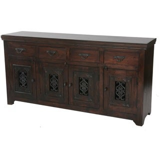 Mirage 4-door 4-drawer Solid Wood Buffet