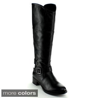 Nature Breeze Women's 'Jillian-02' Knee-high Riding Boots