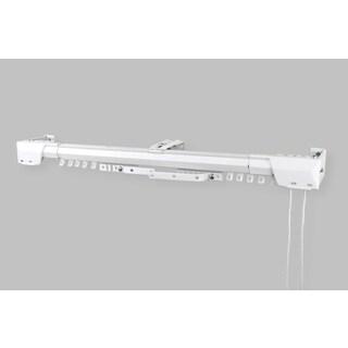 White Heavy Duty Traverse Rod (Center Open)