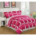Block Reversible 8-piece Bed-in-a-Bag with Sheet Set
