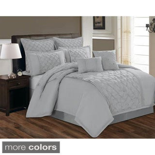 Diana Tufted 8-piece Comforter Set
