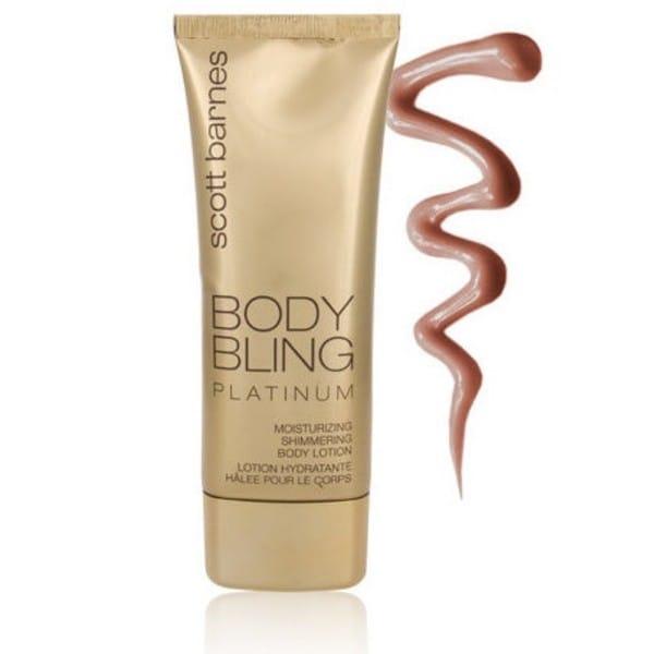 Scott Barnes Body Bling Platinum 4-ounce Bronzing Lotion