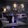 INSPIRE Q Lorin Modern Sleek LED 7-piece Dining Set