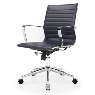 Due Navy Blue Modern Office Chair