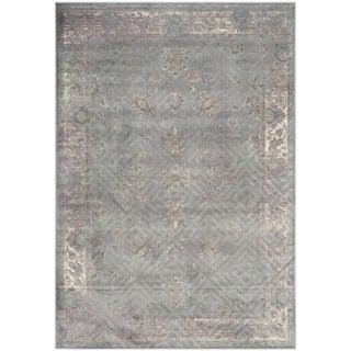 Safavieh Vintage Grey/ Multi Viscose Rug (8' x 11'2)