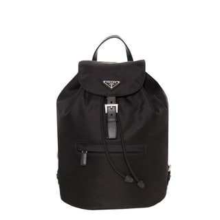 Prada 'Vela' Black Nylon Backpack
