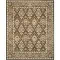 Safavieh Handmade Anatolia Brown/ Beige Wool Rug (9' x 12')