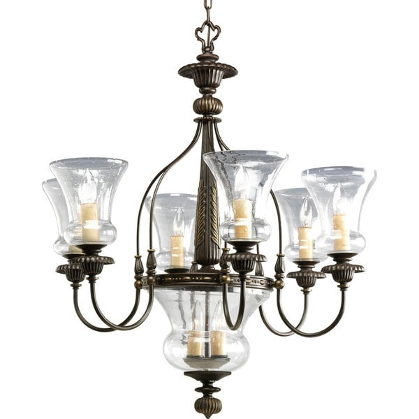 Progress Lighting 6-light Chandelier Lighting Fixture 13822530