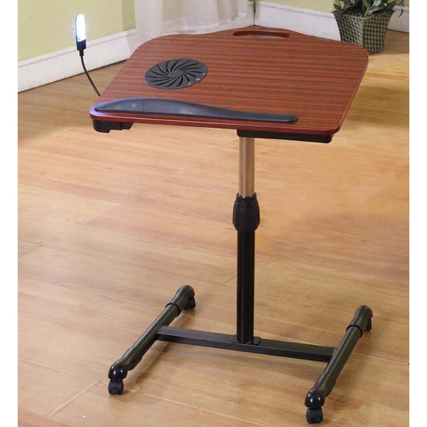 Cherry Black Laptop Table Stand 16559249 Overstock