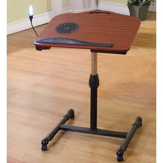Cherry/ Black Laptop Table Stand