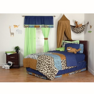 Jazzie Jungle Boy's 3-piece Comforter Set