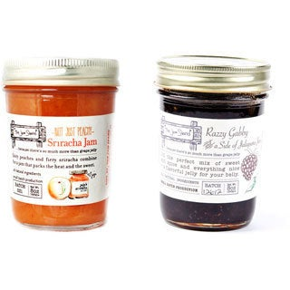 The Jam Stand All-natural Sweet and Spicy Jam Combo (Pack of 2)