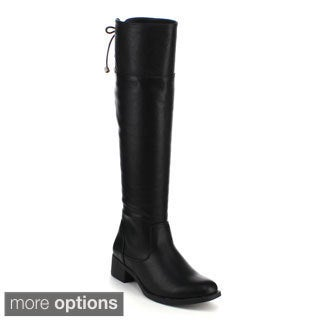 Refresh Women's 'Alto-06' Knee-high Riding Boots