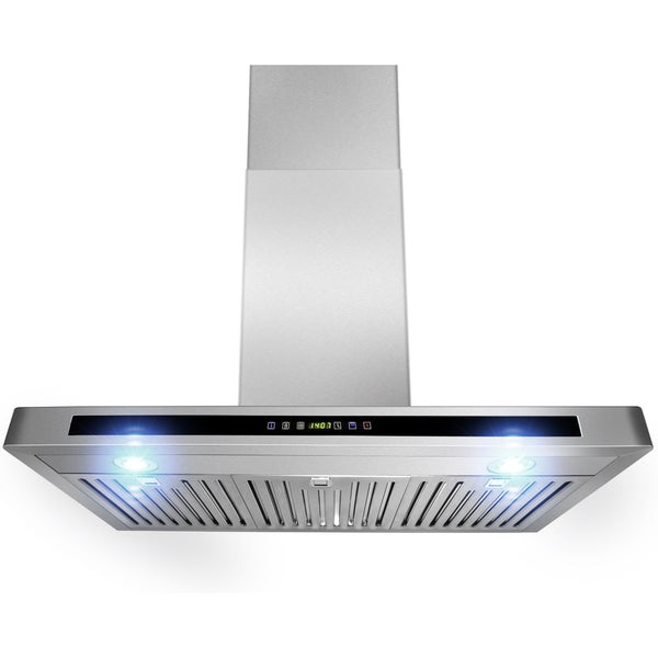 AKDY 30-inch OSWRH503A-30-AG Wall Mount Stainless Steel Range Hood 13823377