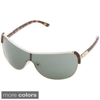 Tory Burch Women's 'TY6033' Metal and Plastic Aviator Sunglasses