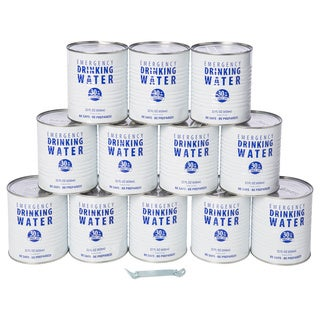 Canned Emergency Drinking Water (Case of 12)