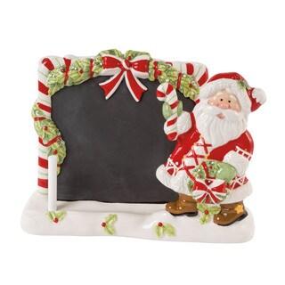 Candy Cane Santa Tablet Holder and Chalkboard