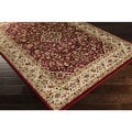 Meticulously Woven Dunwoody Traditional Border Polypropylene Area Rug (2' x 3'3)