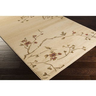 Meticulously Woven Austell Floral Polypropylene Area Rug (2' x 3'3)