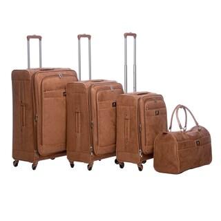Anne Klein Houston 4-piece Expandable Spinner Luggage Set