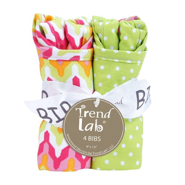 Trend Lab Savannah Bib Bouquet (4 Pack)