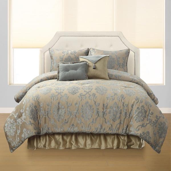 Eden 6-piece Floral Comforter Set