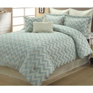 Kimber Geometric 8-piece Comforter Set