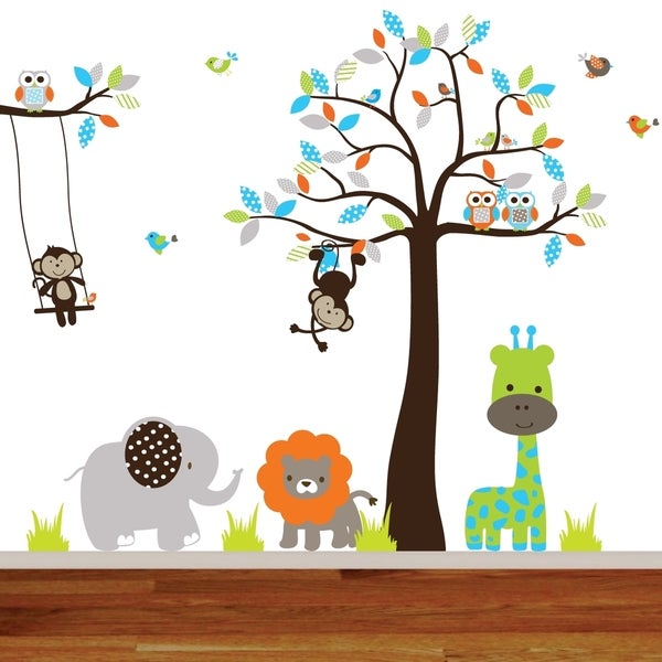 Jungle Nursery Wall Decal