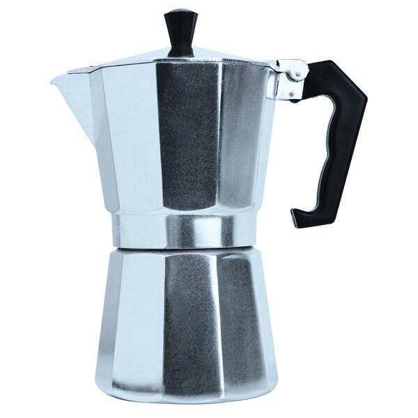 Epoca Primula PES-3301 Aluminum Stovetop Espresso Coffee Maker 13824526